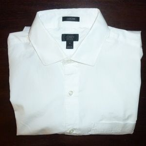 J Crew men's slim fit Ludlow shirt -- S